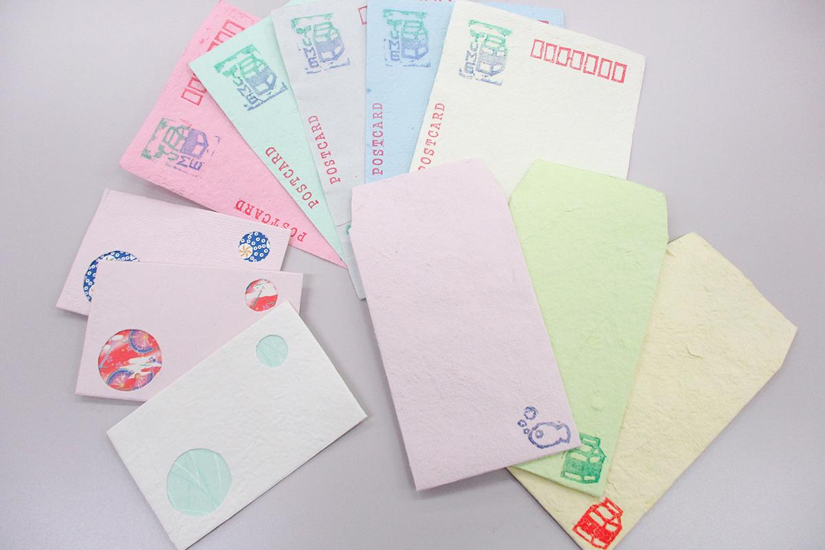紙すき小物:100〜150円
