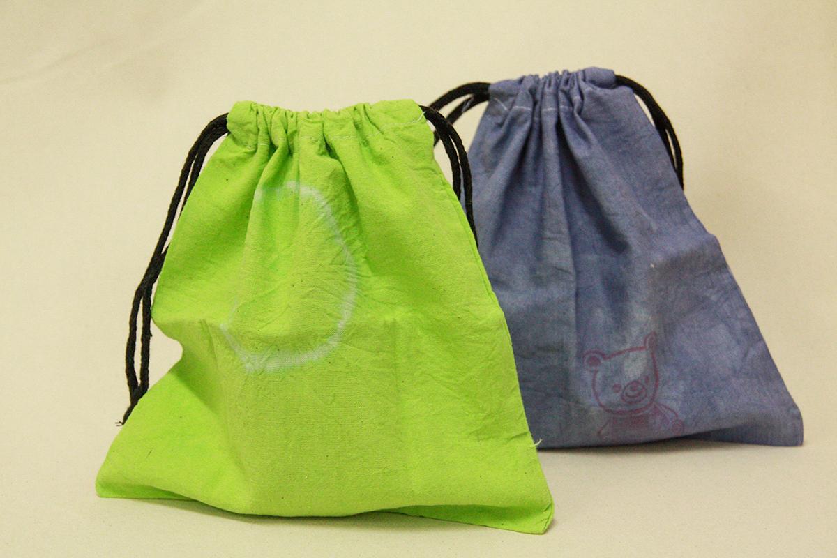巾着袋:100円