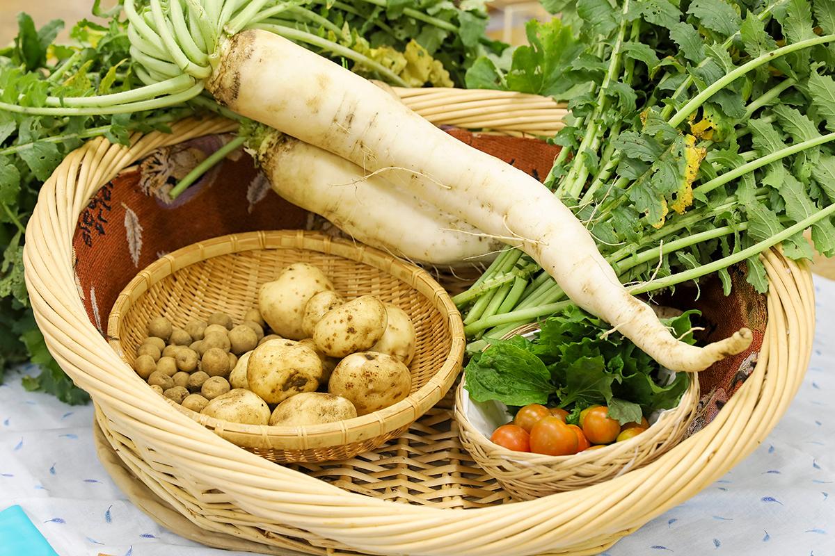 季節野菜:100円~300円
