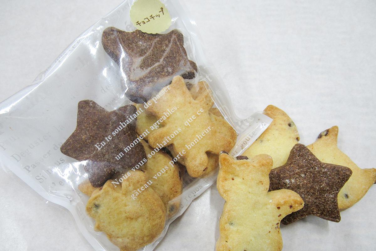 動物型クッキー:250円